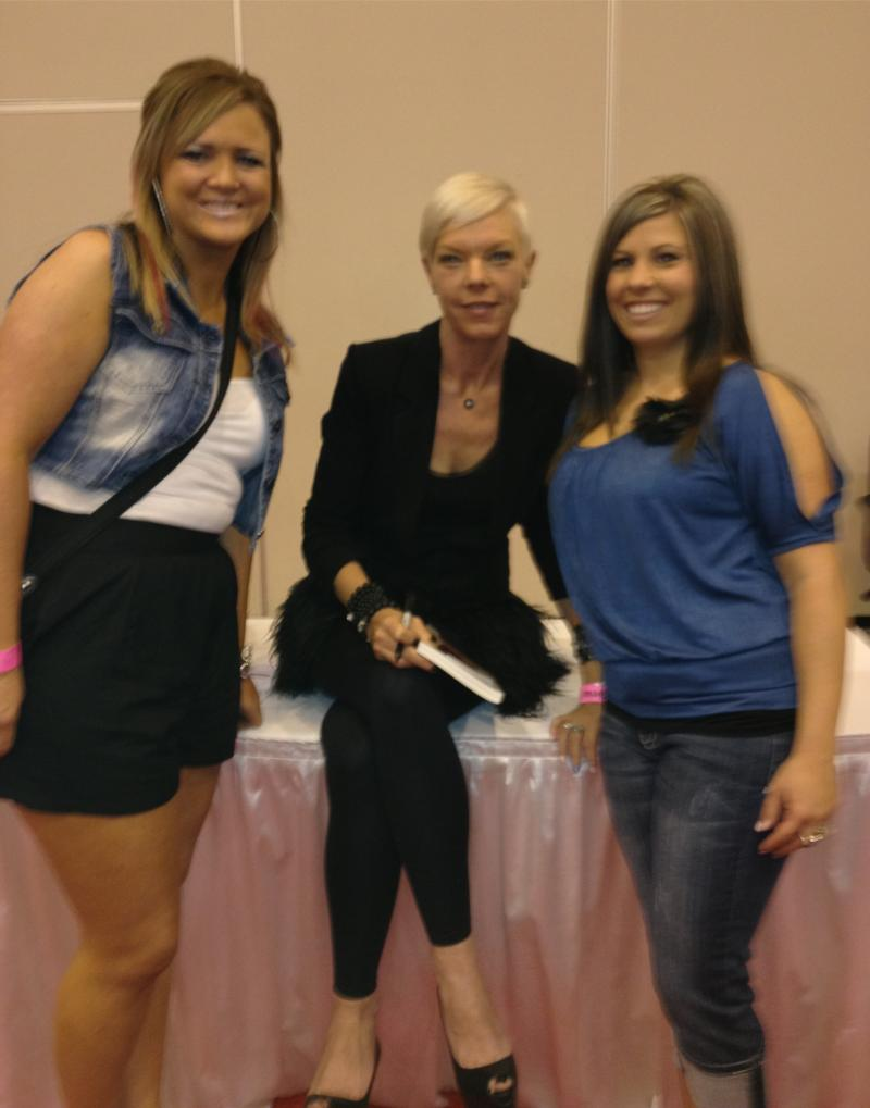 Crystal and Chelsey w/ World Renouned Stylist TABATHA COFFEY!