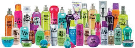 We carry BED HEAD products by TIGI to help you maintain your color and hairstyle